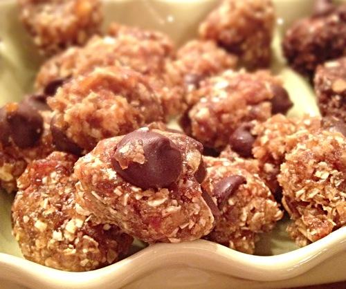 Choco-Chip Nut Butter Bites