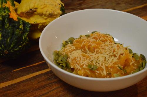 Pumpkin & Sage Spaghetti Squash