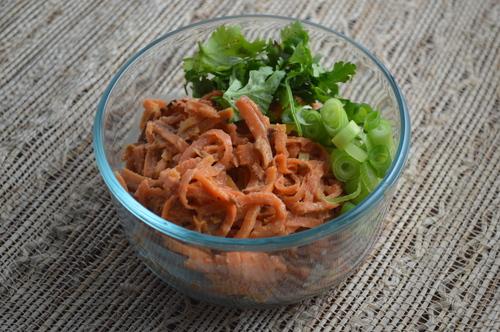 Sweet Thai Veggie Noodles