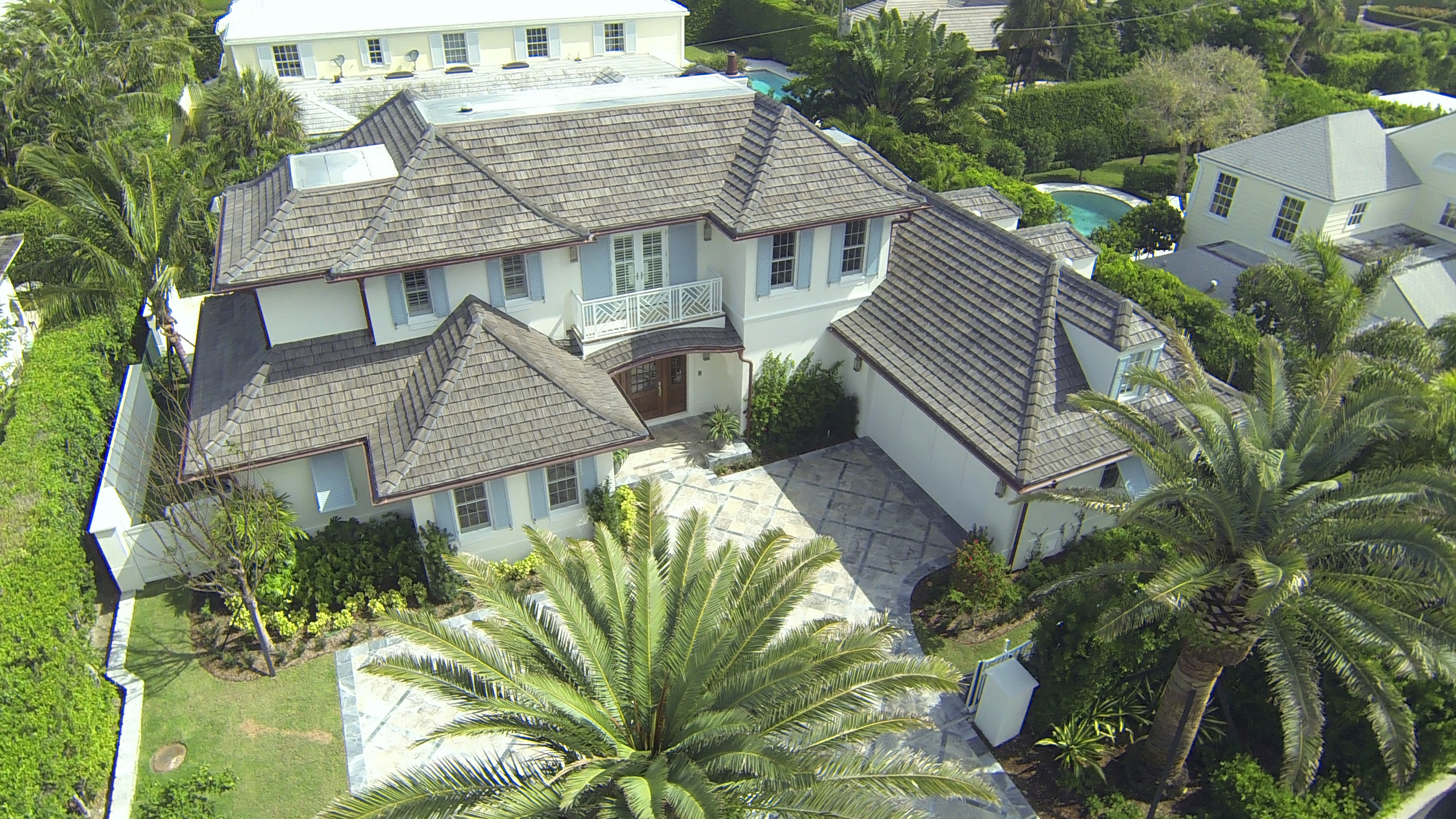 Aerial progress photography for luxury home by J.P. DiMisa & Associates CGC1506977
