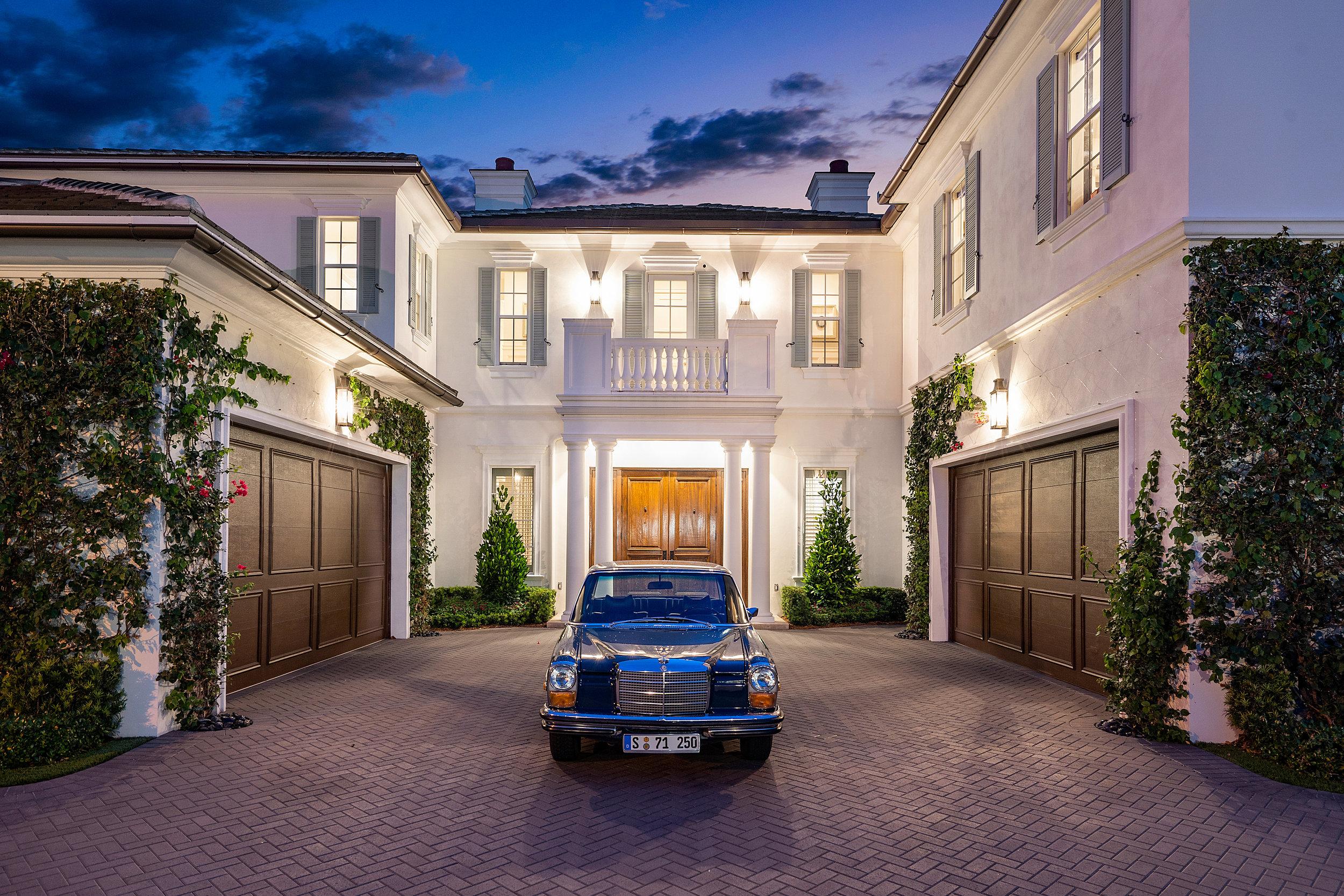 Award-winning Royal Palm Yacht & Country Club luxury custom home in Boca Raton, Florida.