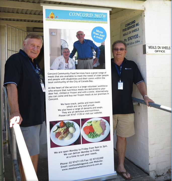 Volunteers - Brian and Roger