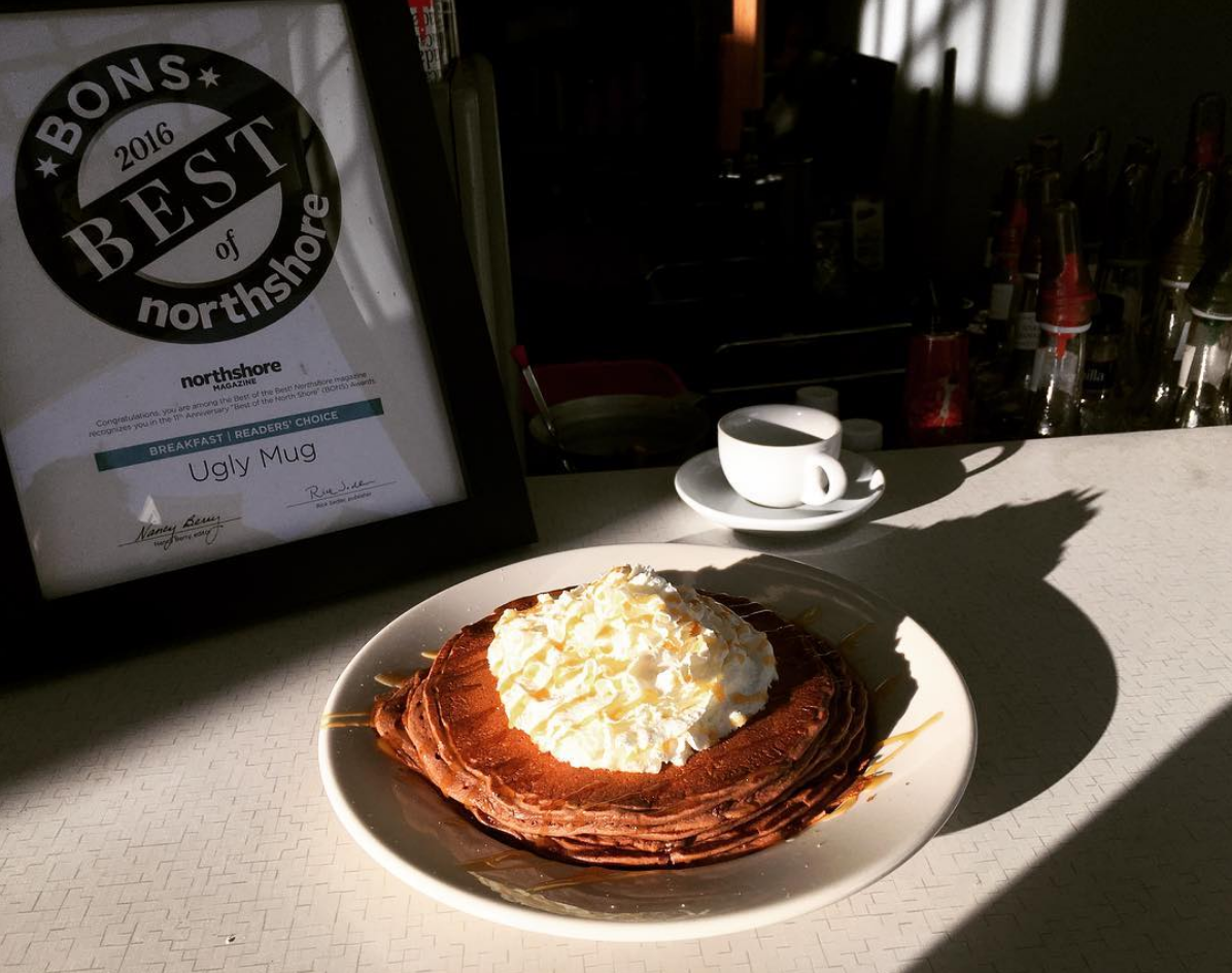 Double Chocolate Espresso Pancakes