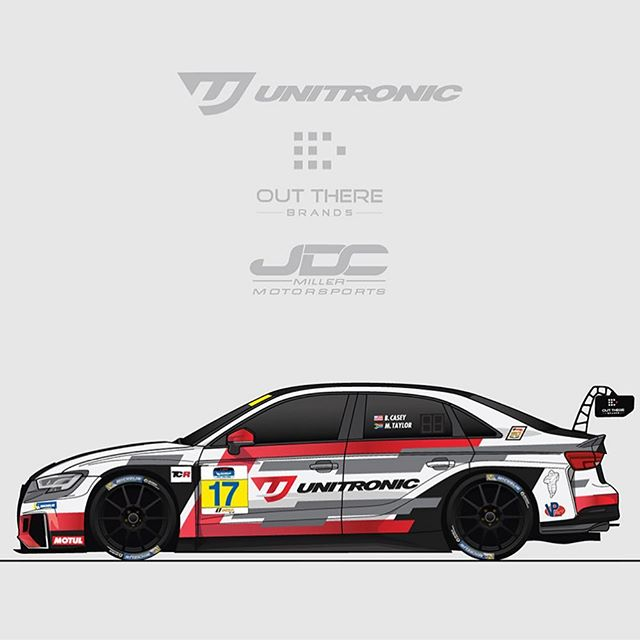 Happy to share the news that I'll be back in @imsa_racing this season in TCR with @mikeytracing in the incredibly good looking #17 @unitronic Audi RS 3 LMS. Can't wait to get after it! A partial season effort starting out at @sebringraceway next month! Thankful to be back with the @audisport family and @jdcmotorsports.