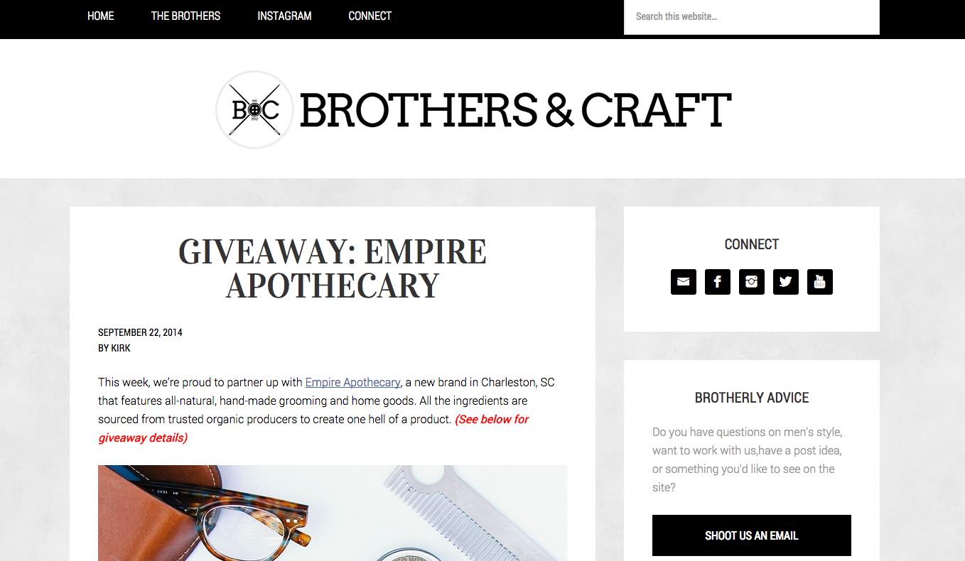 Brothers and Craft Empire Apothecary.jpg