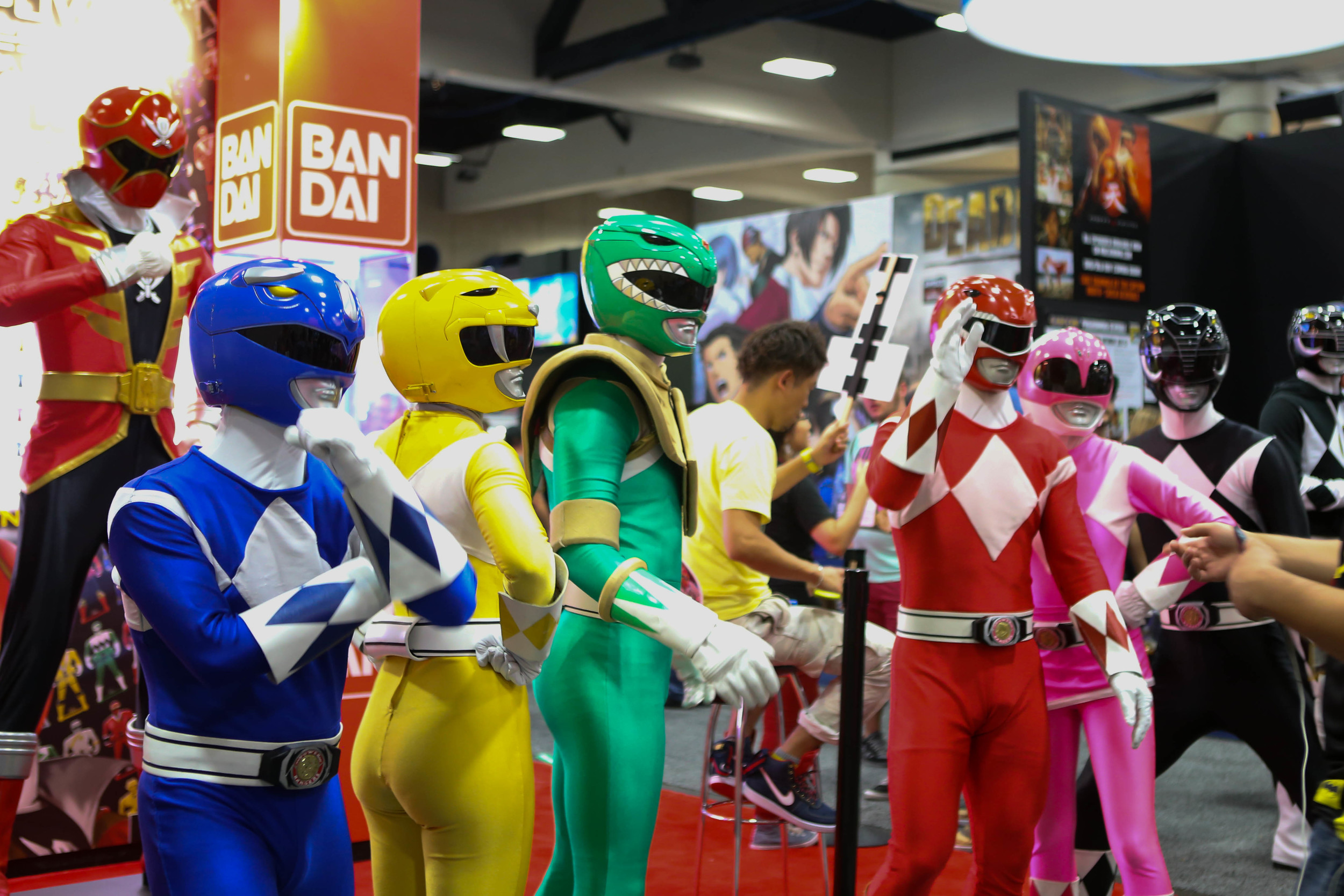 This isn't confirmed yet, but Power Rangers might be in the Avengers 2.