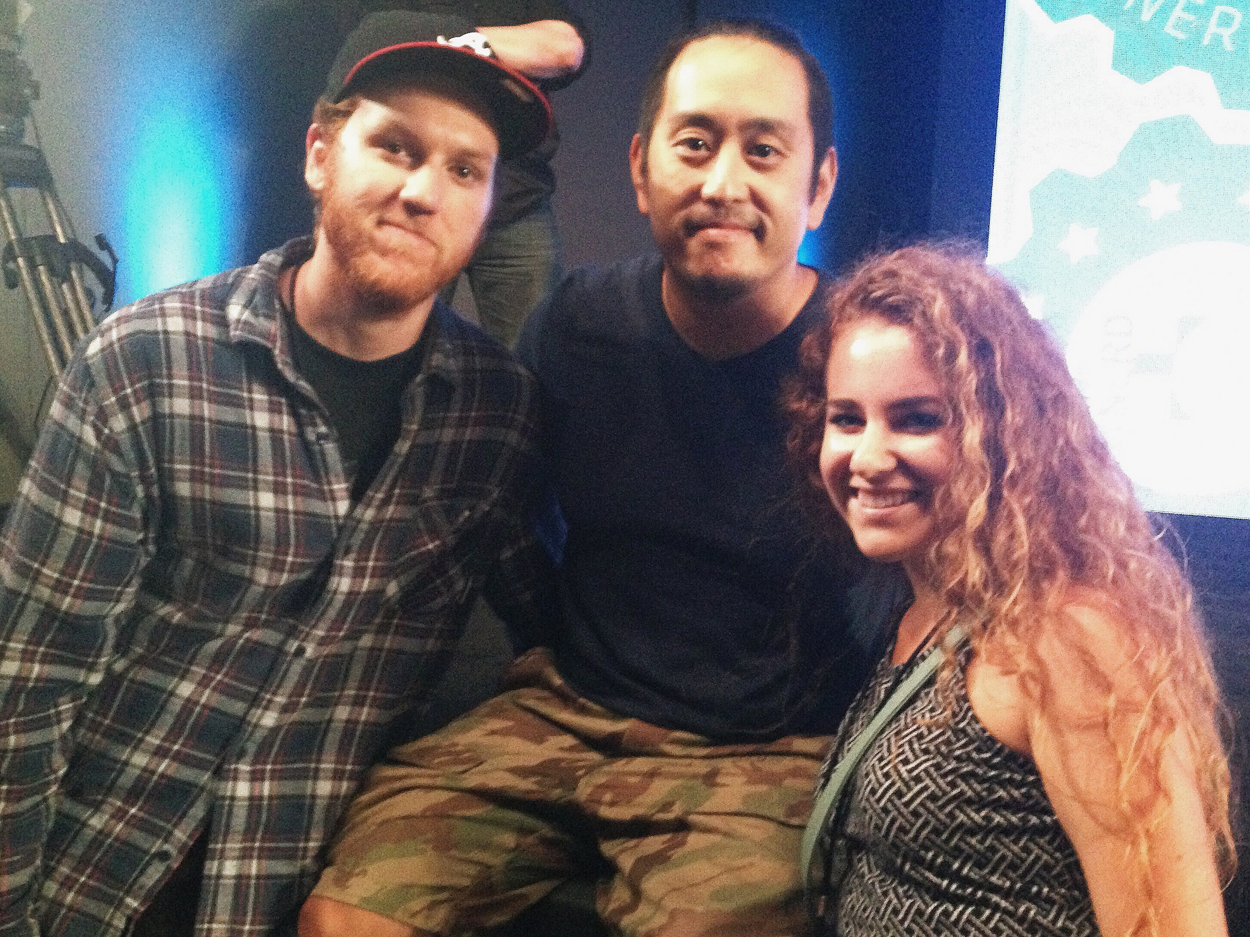 After the Awards Show/Concert, KT and I were able to attend an early screening of the film Mall, directed by Linkin Park's own Joe Hahn. We watched the film and then took part in a Q&A panel. Joe was a super rad guy, and his movie was crazy!