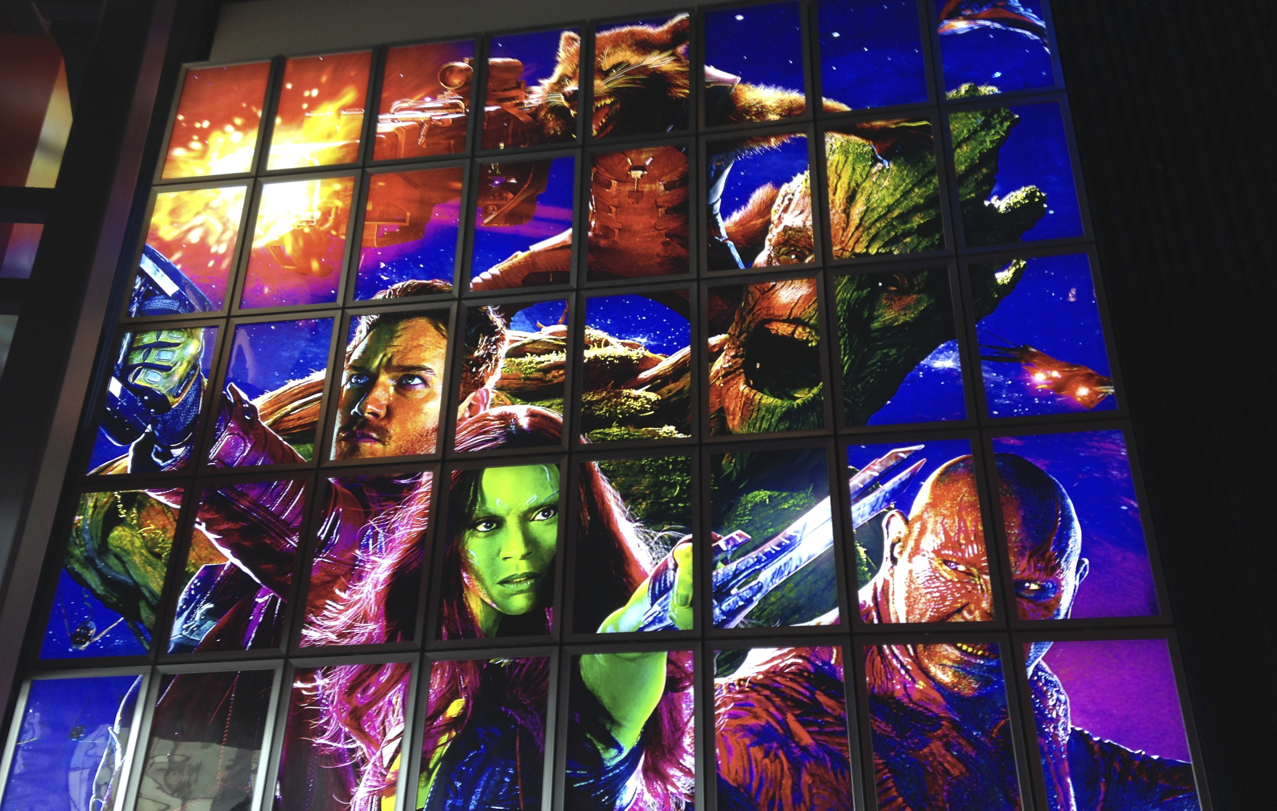 Guardians again?! Well we laughed through a lot of dialogue, so we had to go back and pay attention.