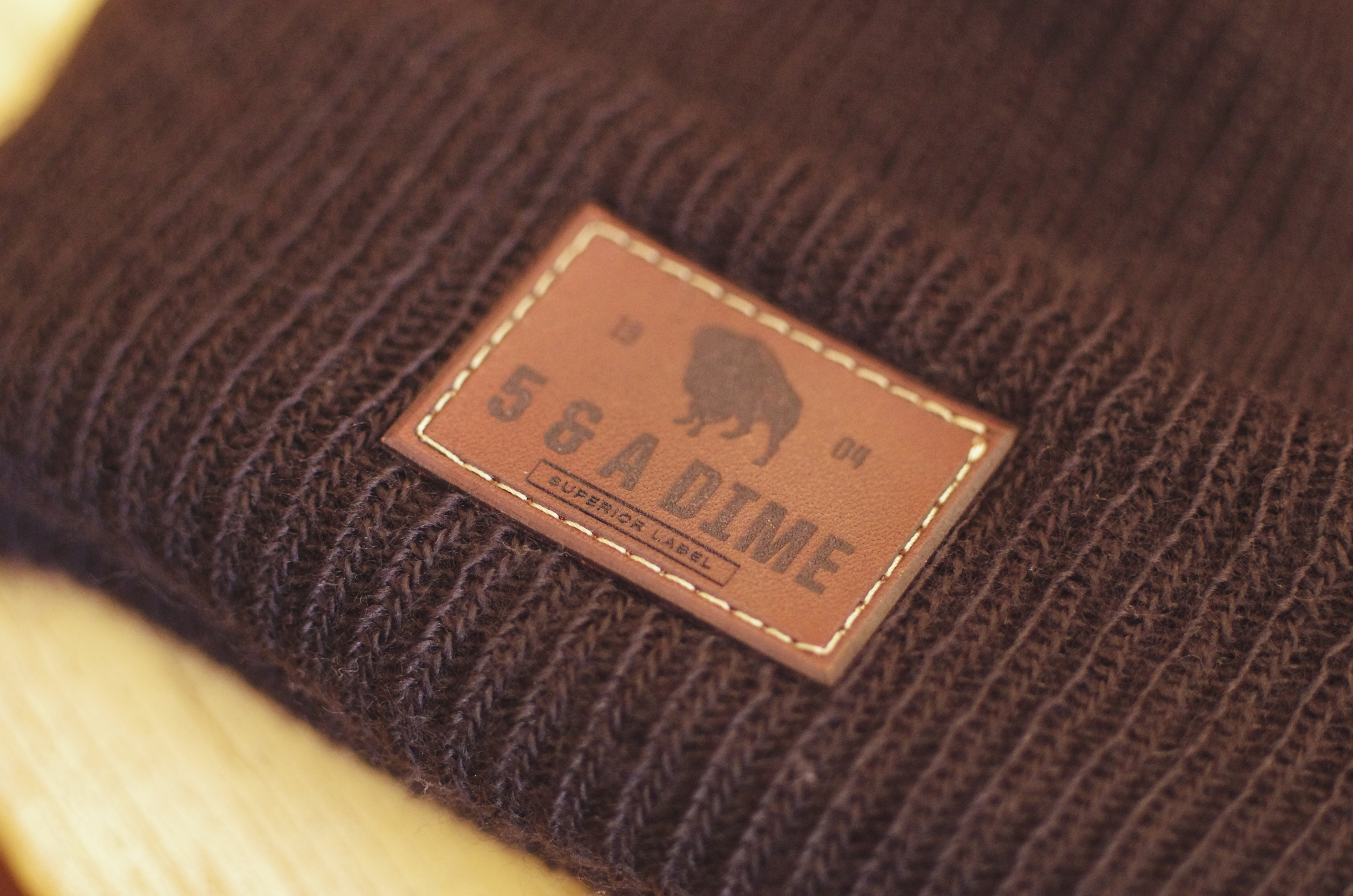 One of my favorite beanies. It's a little hot right now, but pick one up and you'll be prepared for fall semester!