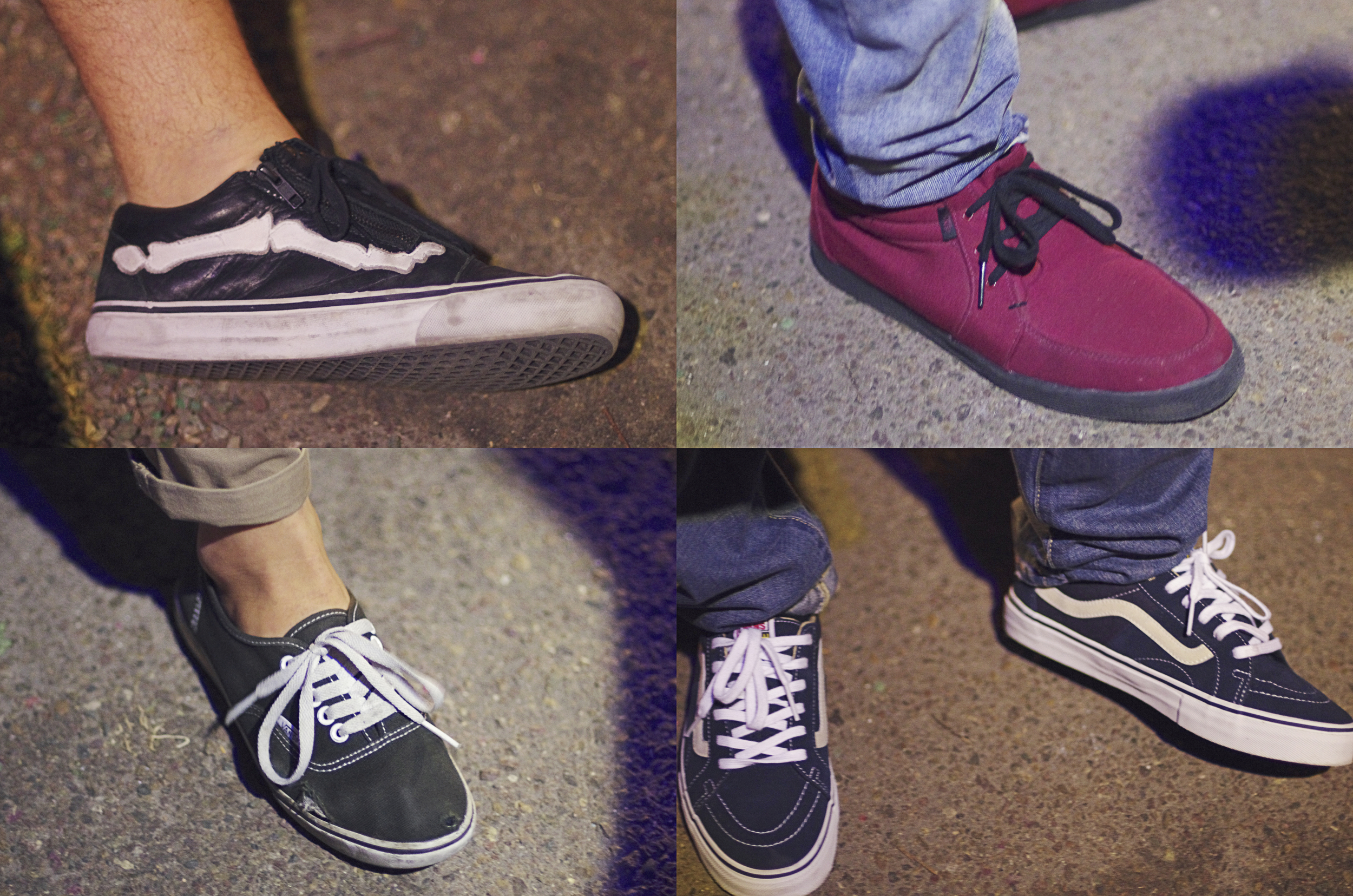 Of course you can't make it out to DIRTY FKN VANS without wearing Vans.