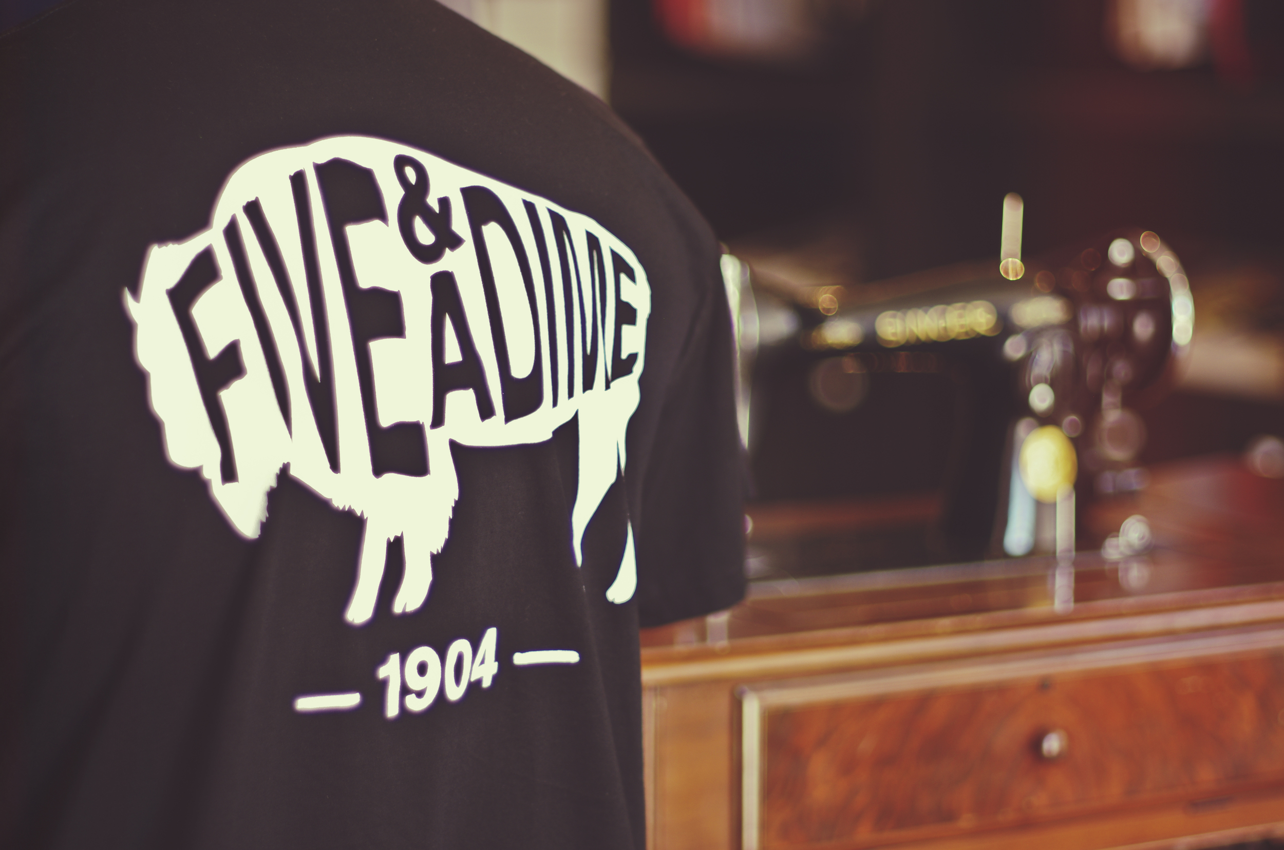 "The brand new ""Buffalo Script"" tees are in the shop!"