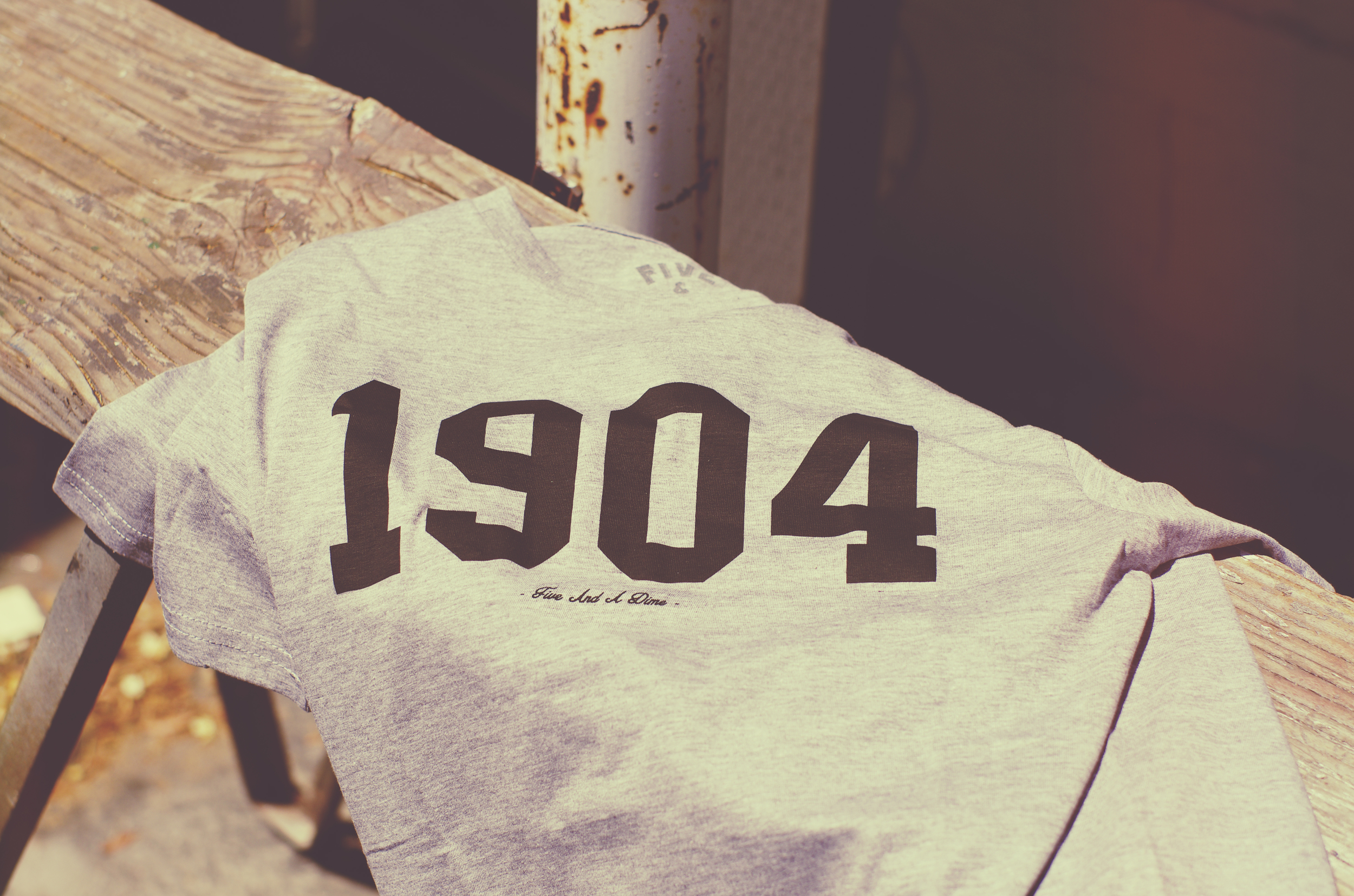 "The popular ""1904"" tee is also back in a new colorway."