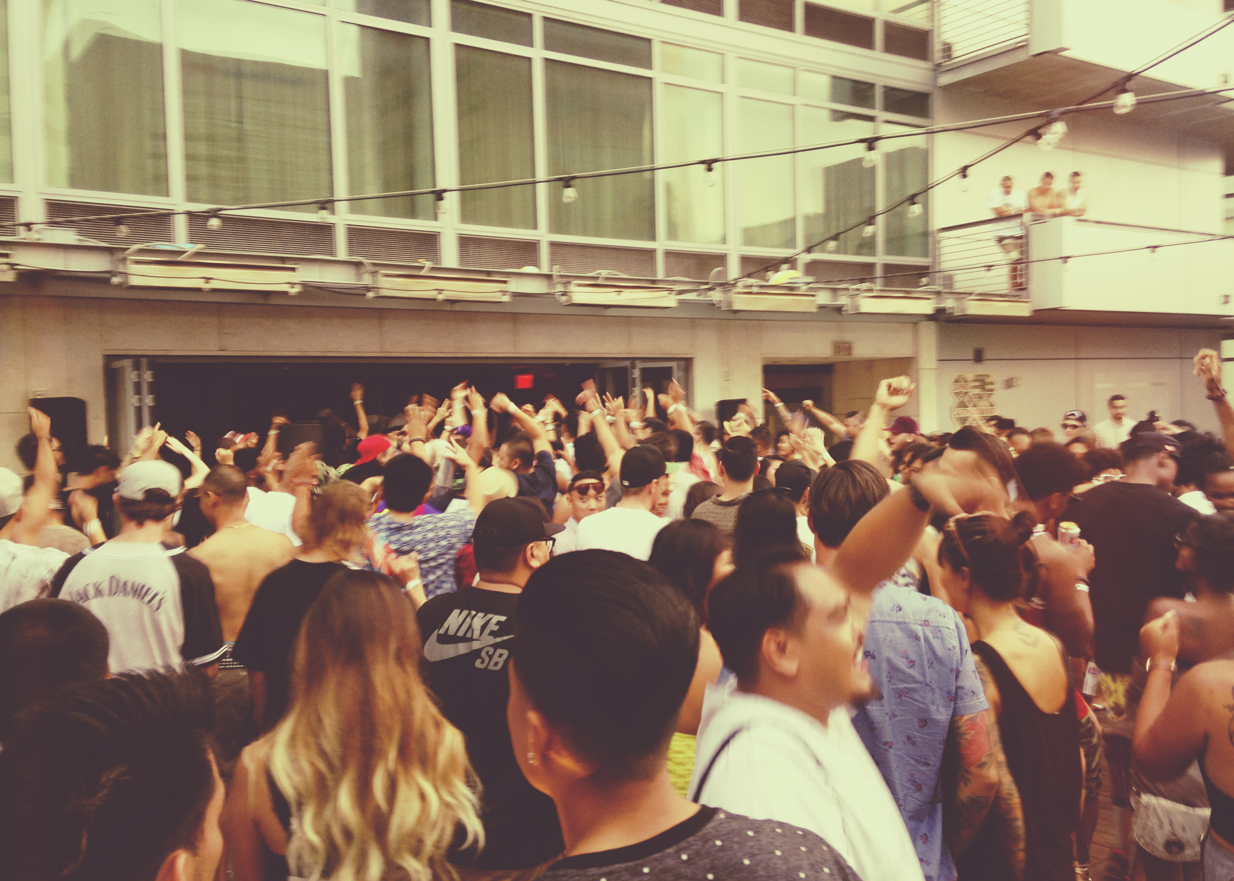 Next, we headed to the Palomar hotel to check out the Soulection  pool party.