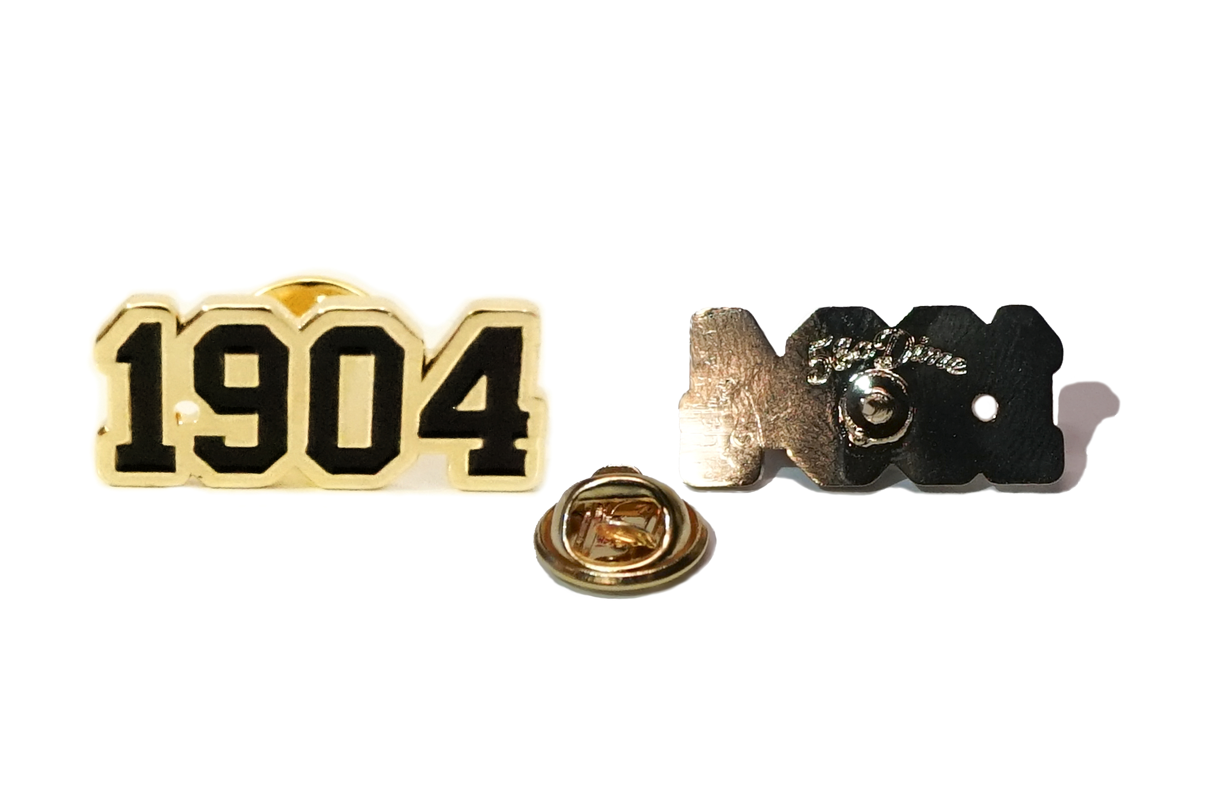 We have a bunch of new goods up in the store. My new favorite product is this black and gold 1904 pin. You can check out the rest by clicking our shop link... Or you can always stop by the new shop!