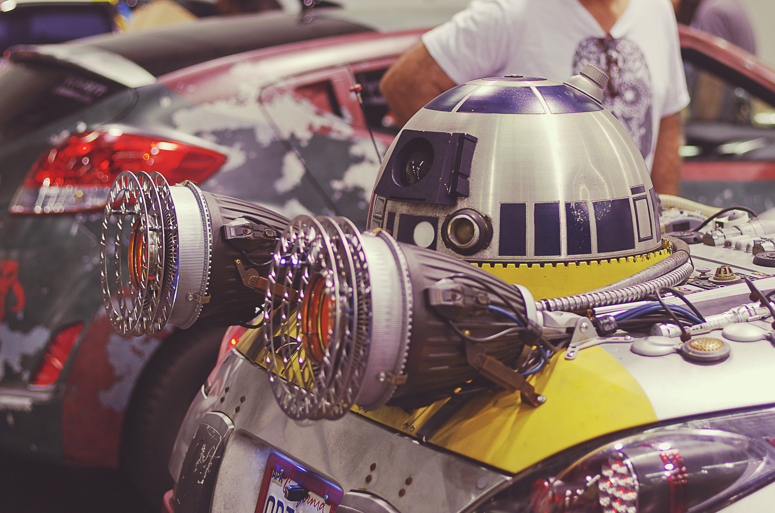 We started with the custom Star Wars cars.