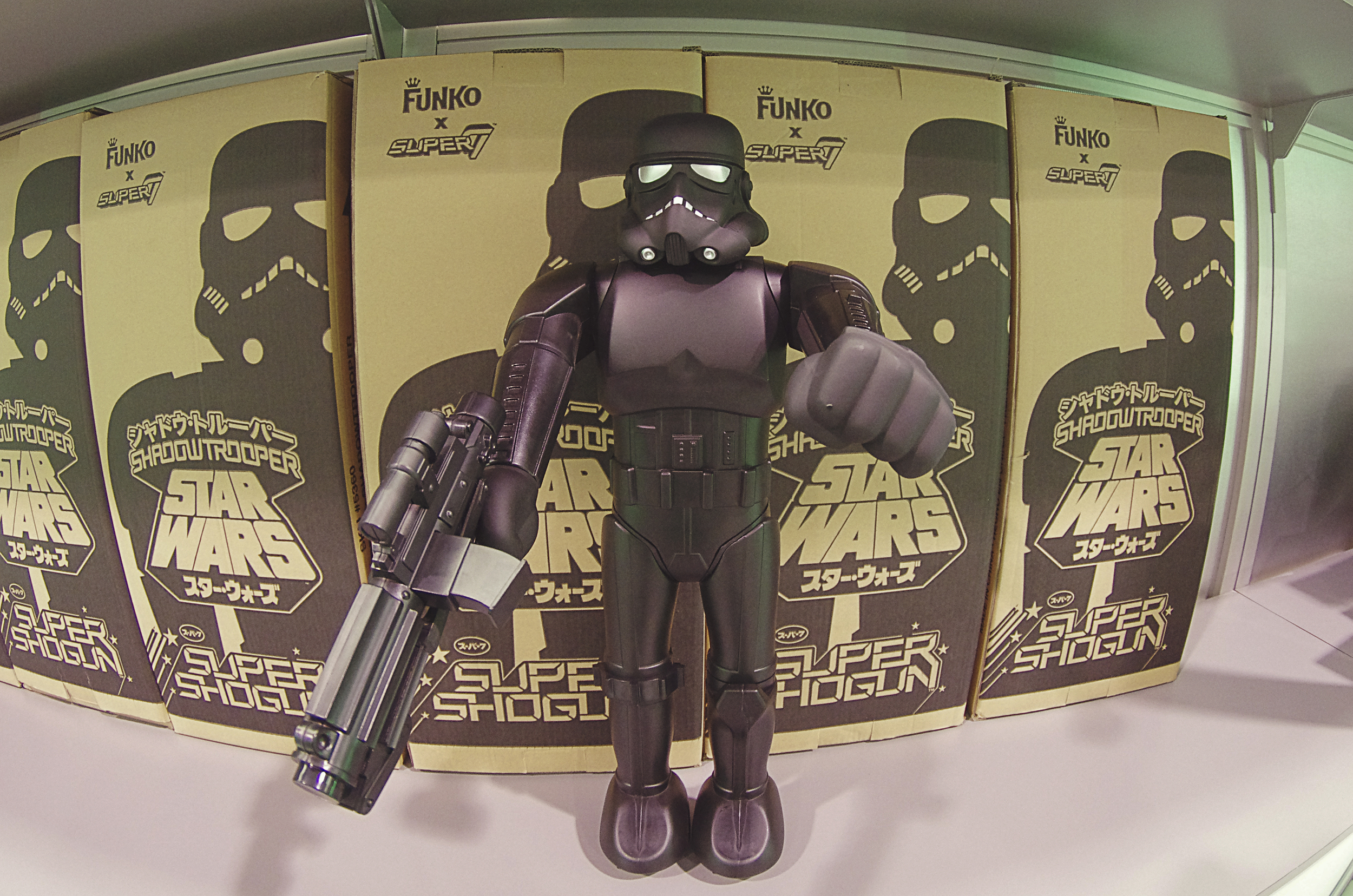 Our buddies over at Super7 even had an exclusive Shadow Trooper for Star Wars Celebration. Kris should probably send us one to review for our blog.