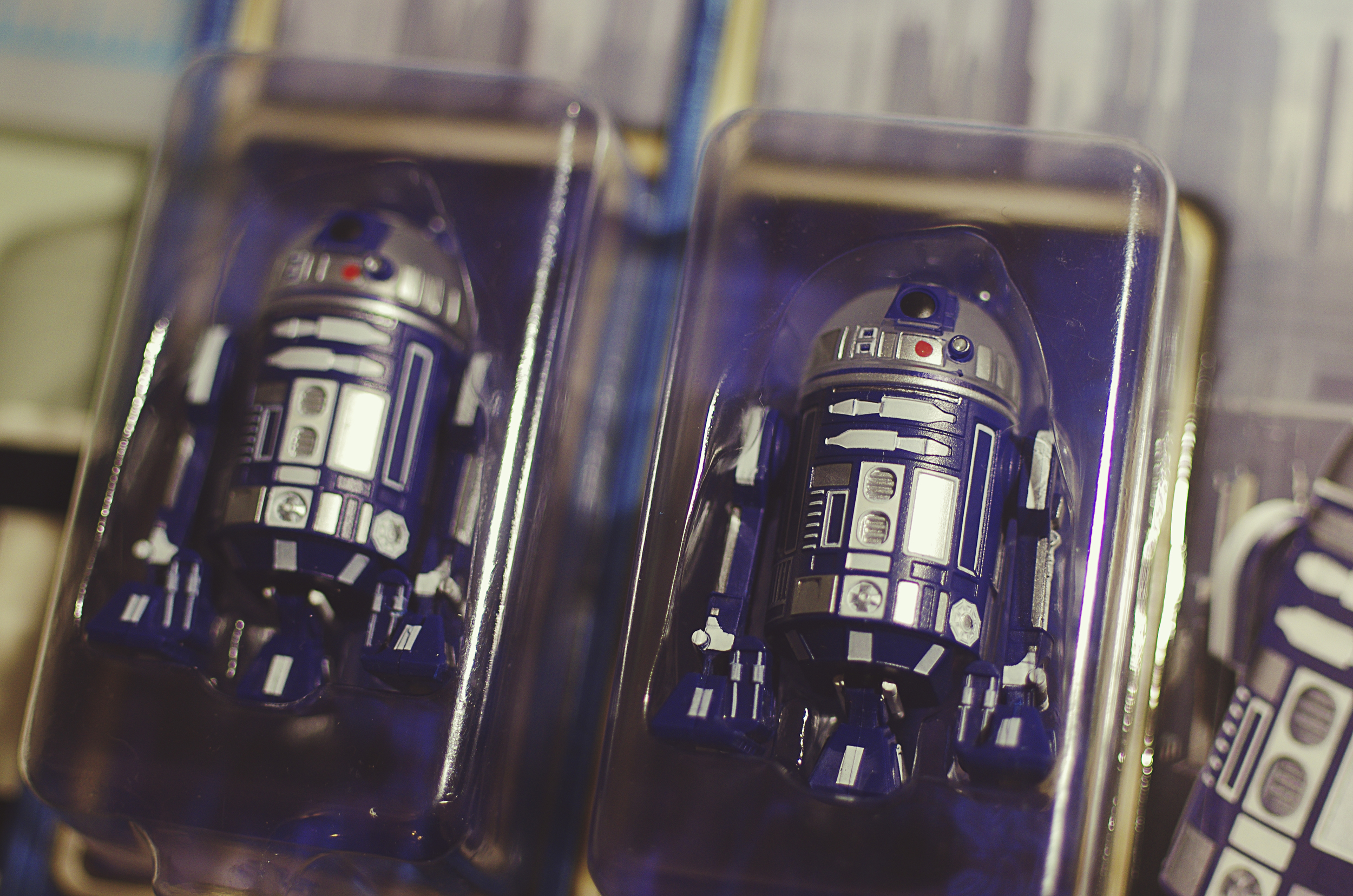 We snagged the limited R2-D60 for the Diamond Celebration. Only 6,000 were made and currently I think there are about 5,598 still hanging on racks at Disneyland.