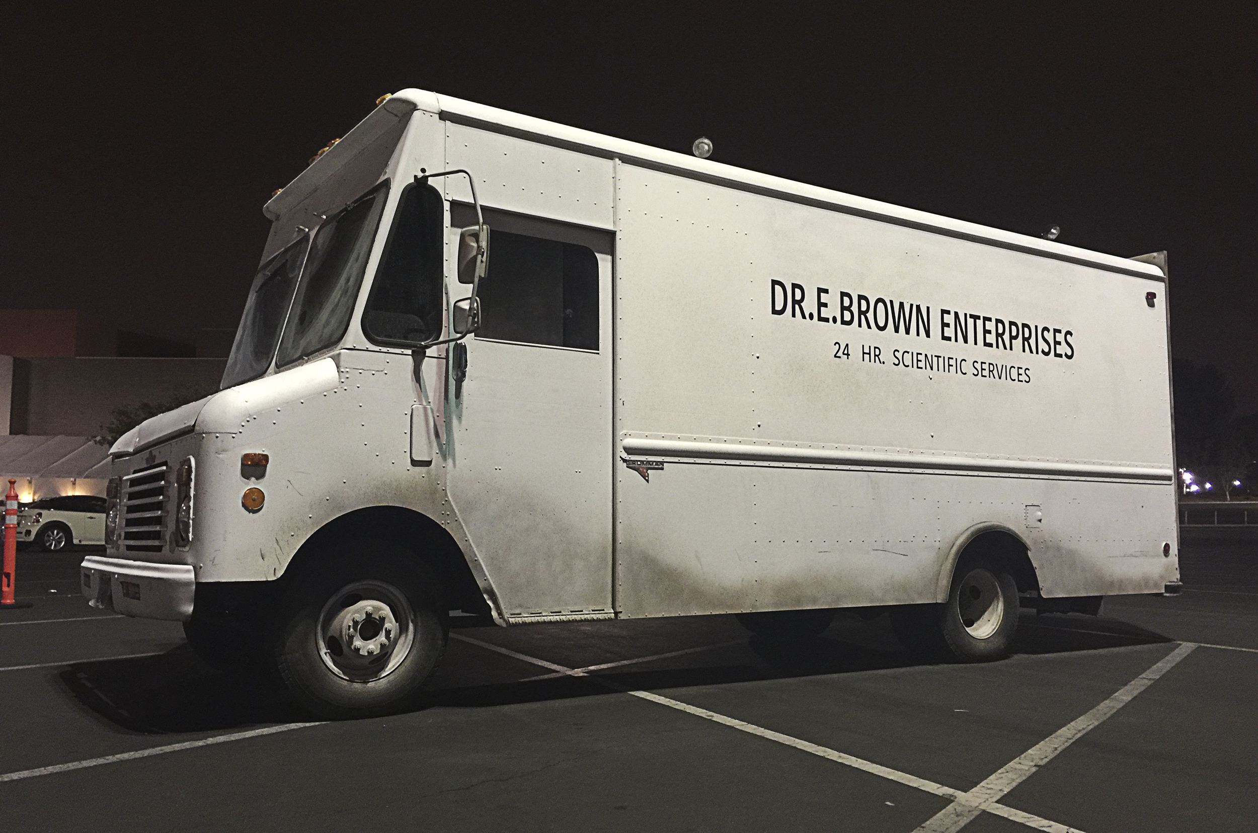 While Doc's van may look very simple... The amount of detail in this thing is pretty amazing.