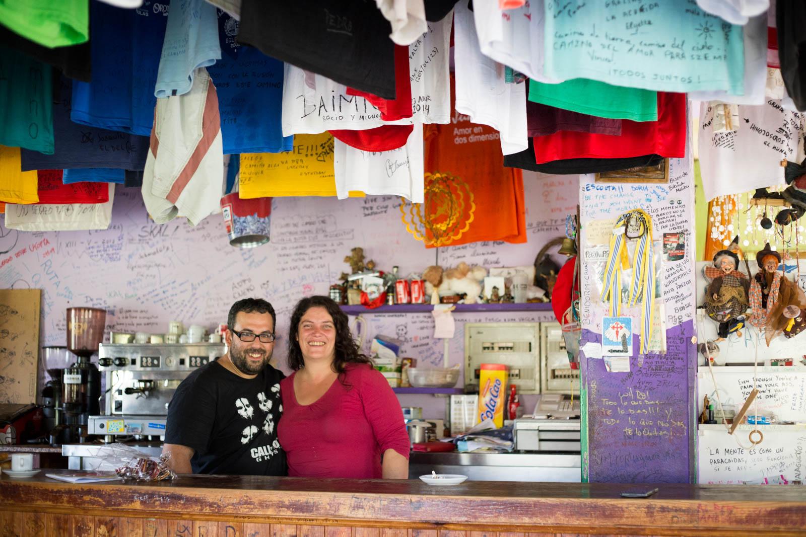 Sonia y Quiqueensu increible bar