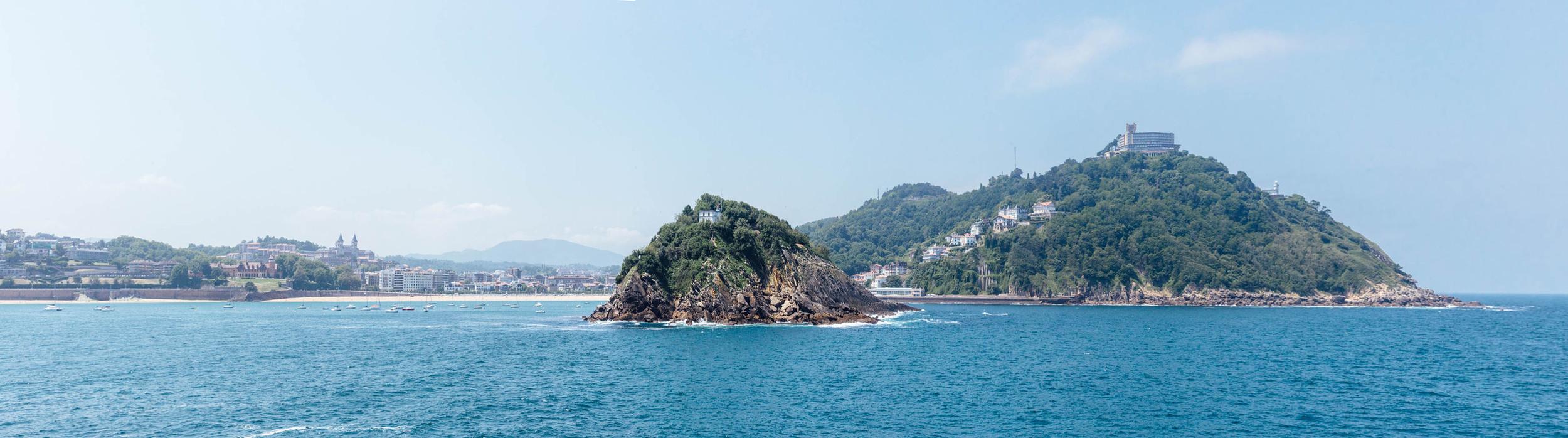 La belleza de San Sebastián