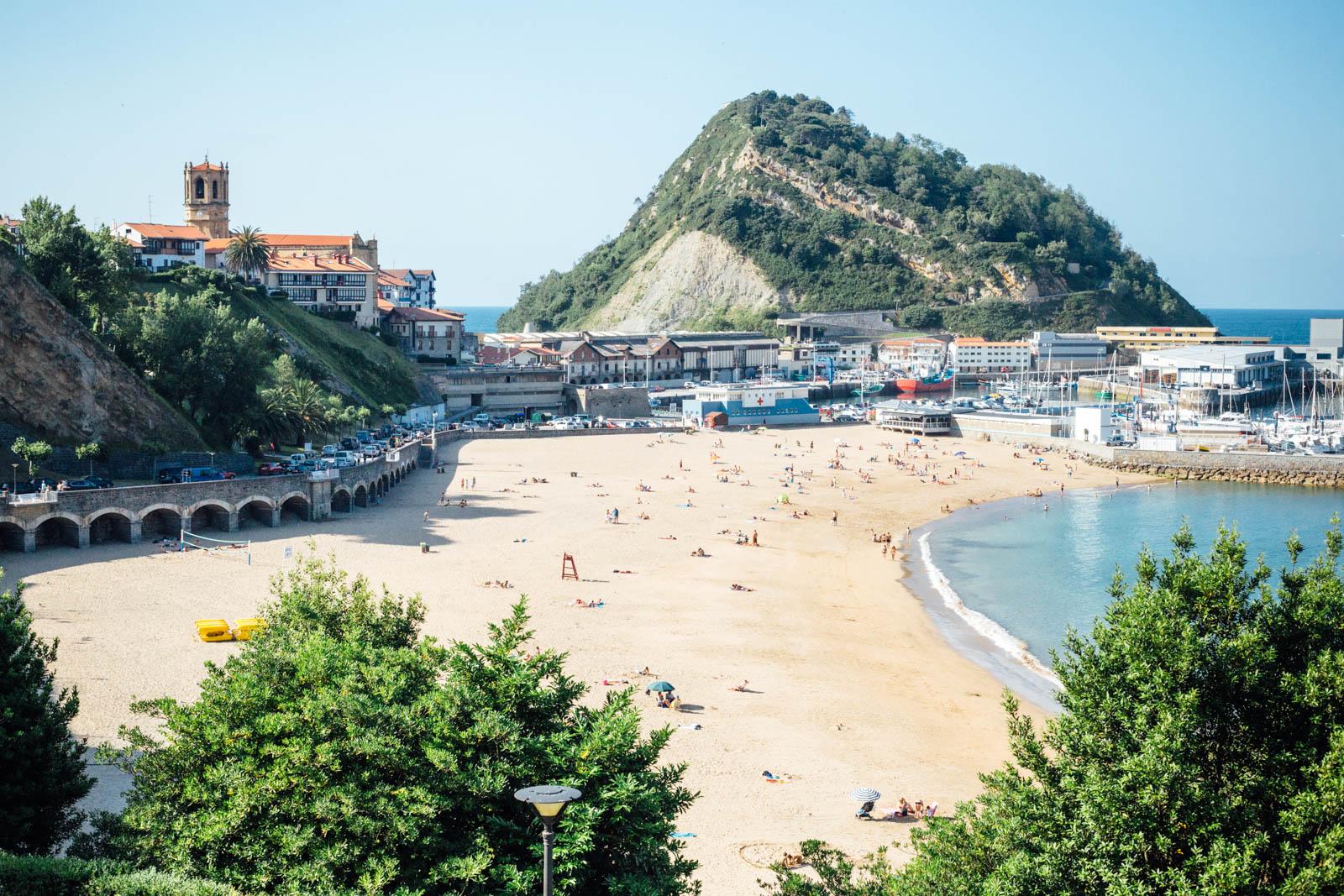 Elcano's hometown: Getaria!