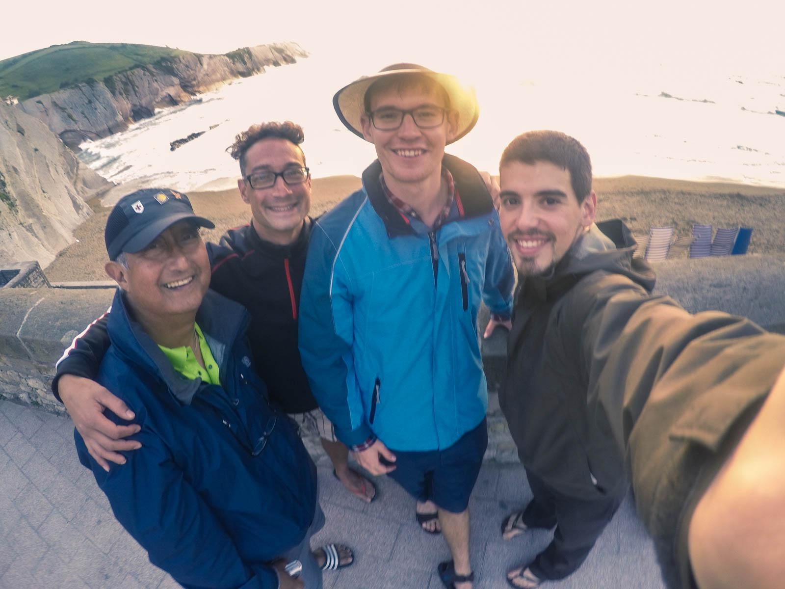 Ingmar, Don, Robert y yo