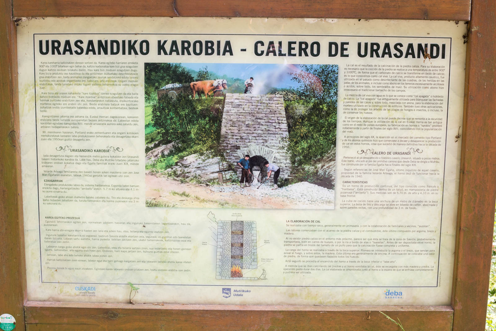 Urasandi's Lime Kiln (click on the photo for more information)