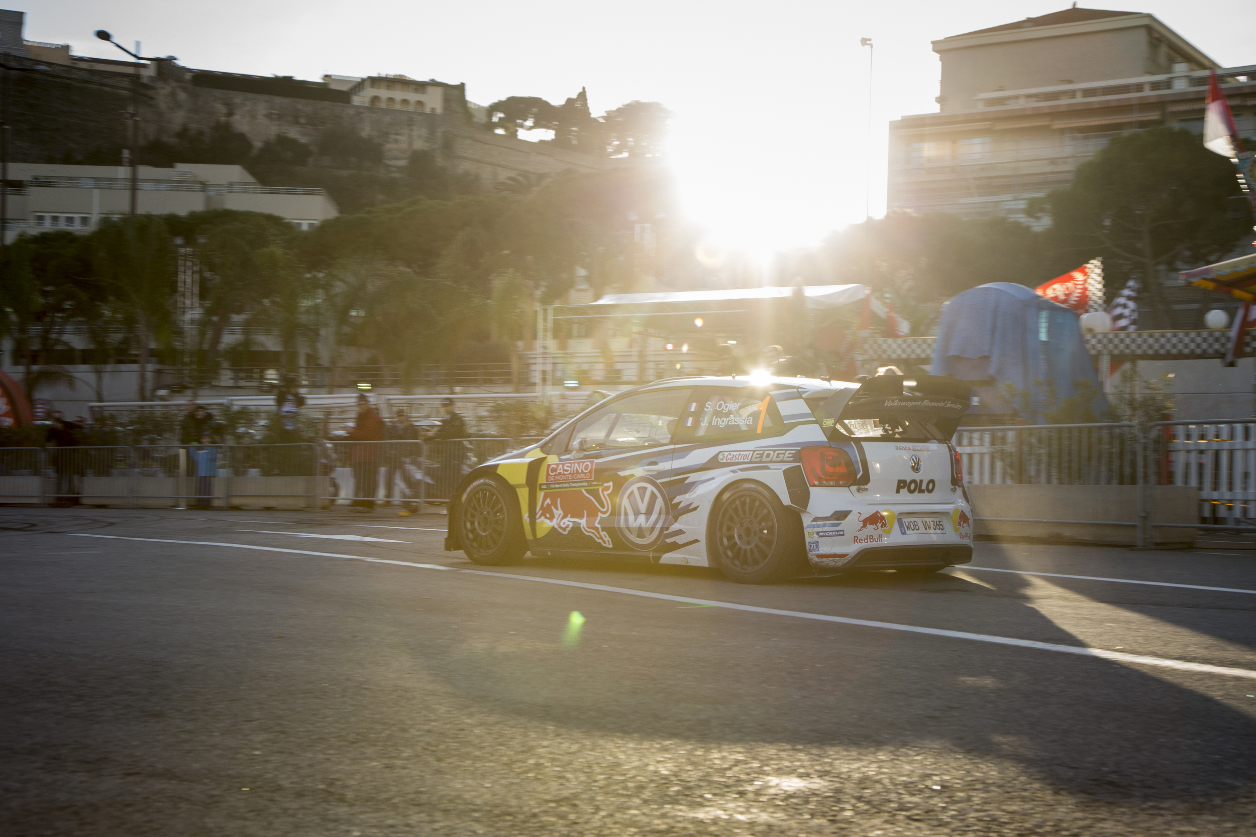 Port Hercule Monaco -WRC show 2015