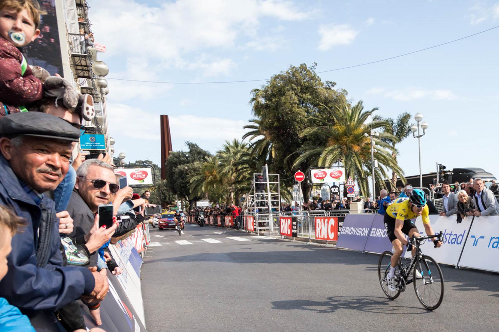Geraint Thomas, ganador de la París-Niza: ¡sólo 4s!