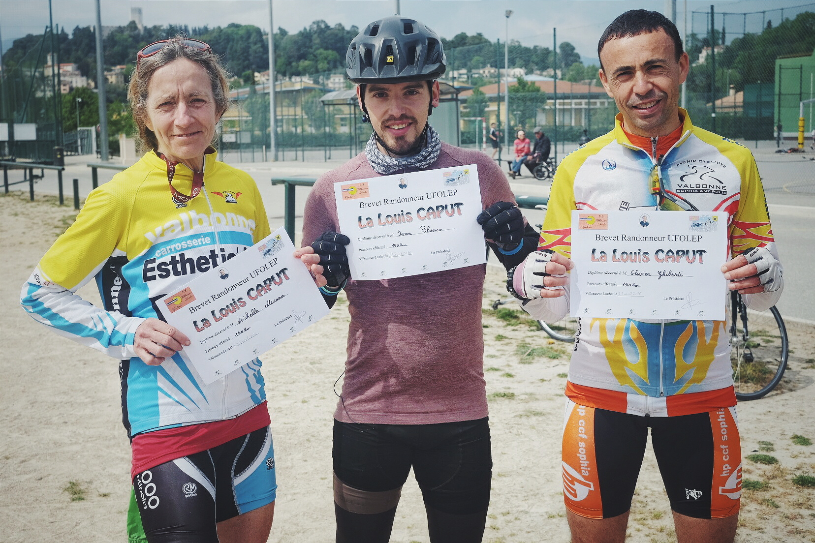 Sportive Louis Caput 2016 by Ivan Blanco (27) - Cycling Louis Caput Friends Michelle Olivier Adventure France South Villeneuve Loubet Provence