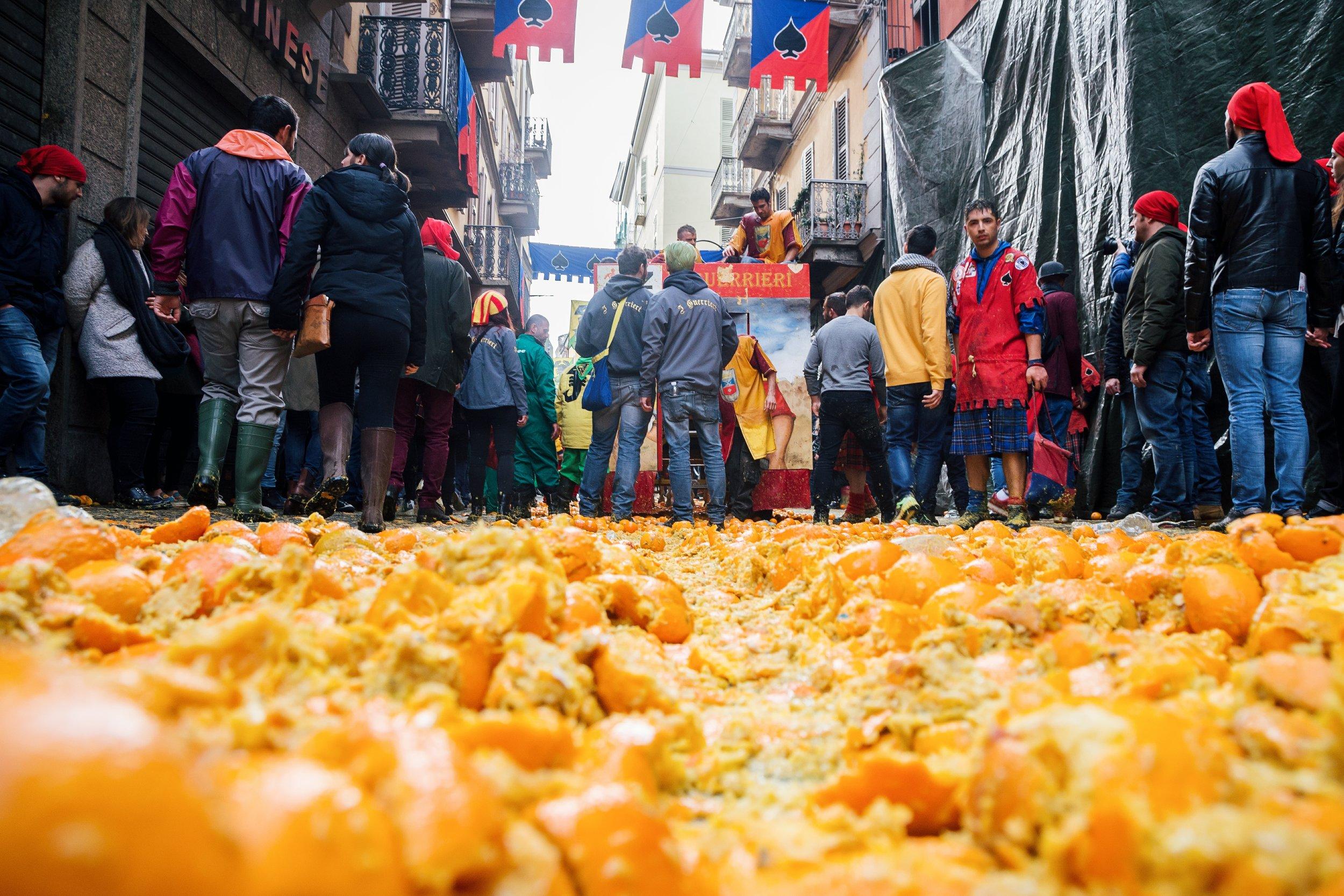 Fiumi di arancie