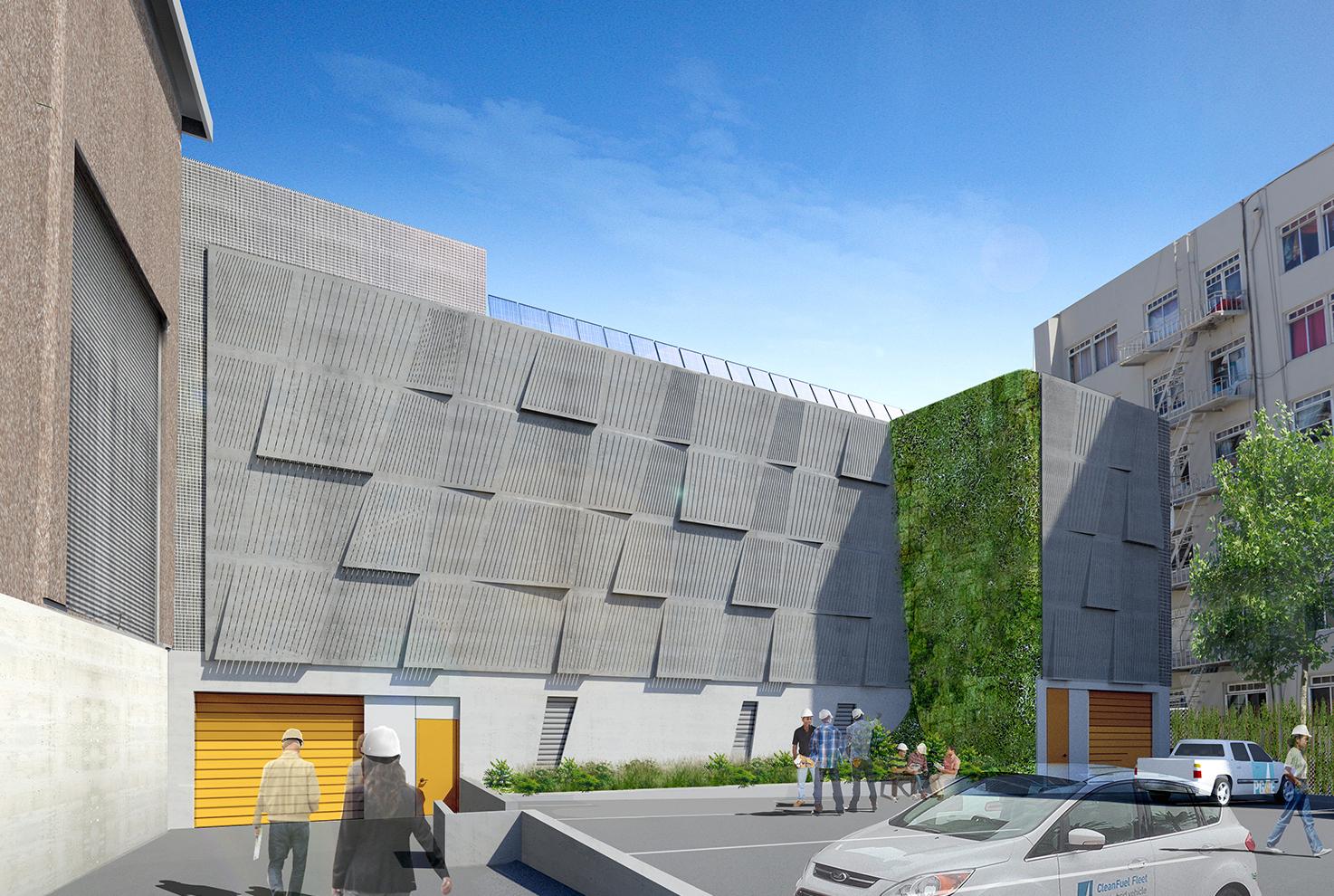 PG&E Larkin Switchgear Building (rendering)