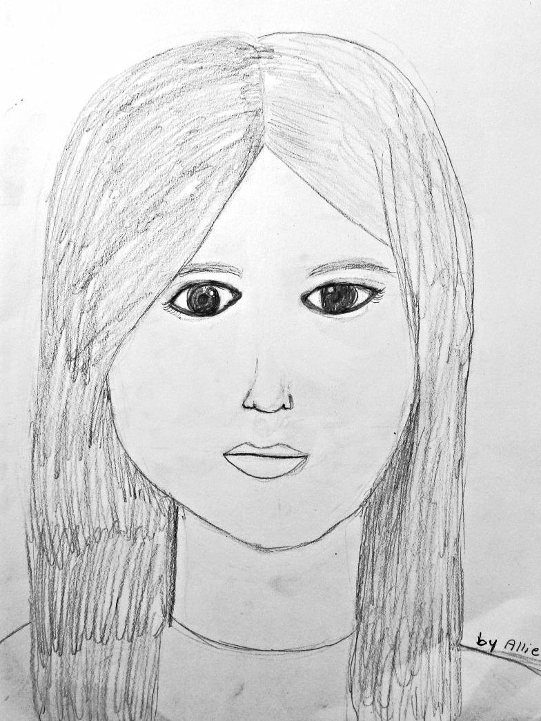 Allie, age 8
