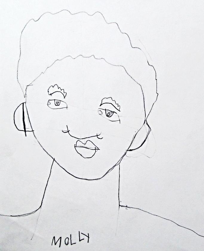 Molly, age 8