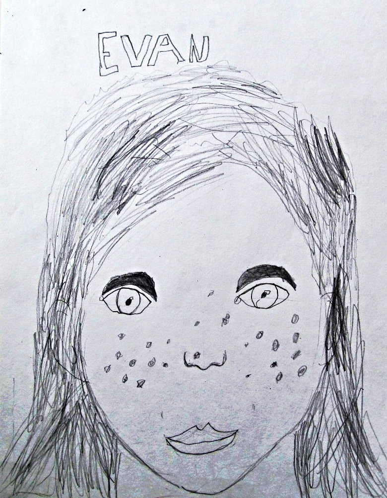 Evan, age 7