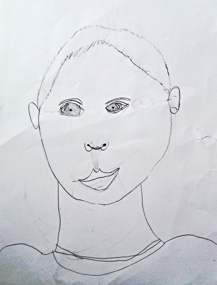 Sam, age 8