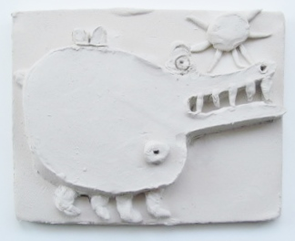 Abby K's imaginary creature tile