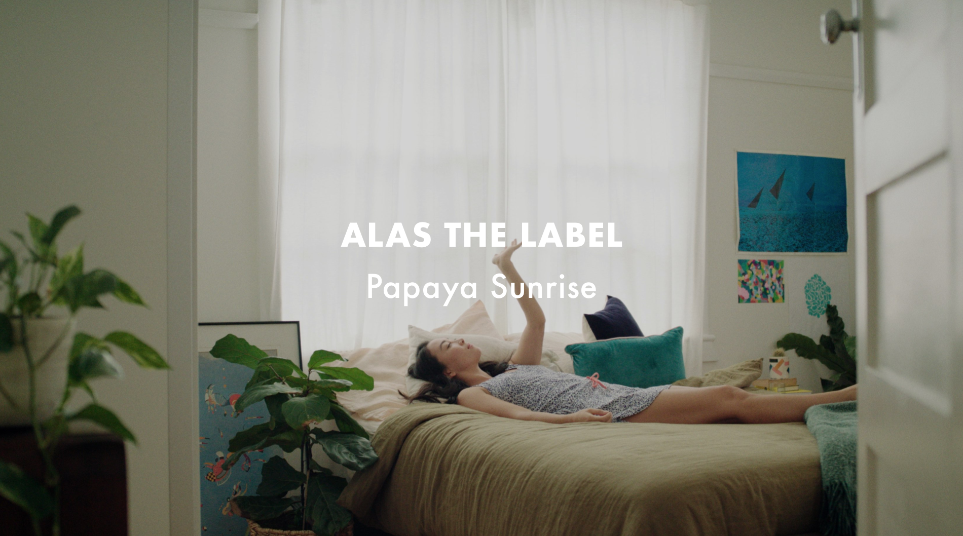 Alas The Label - Papaya Sunrise