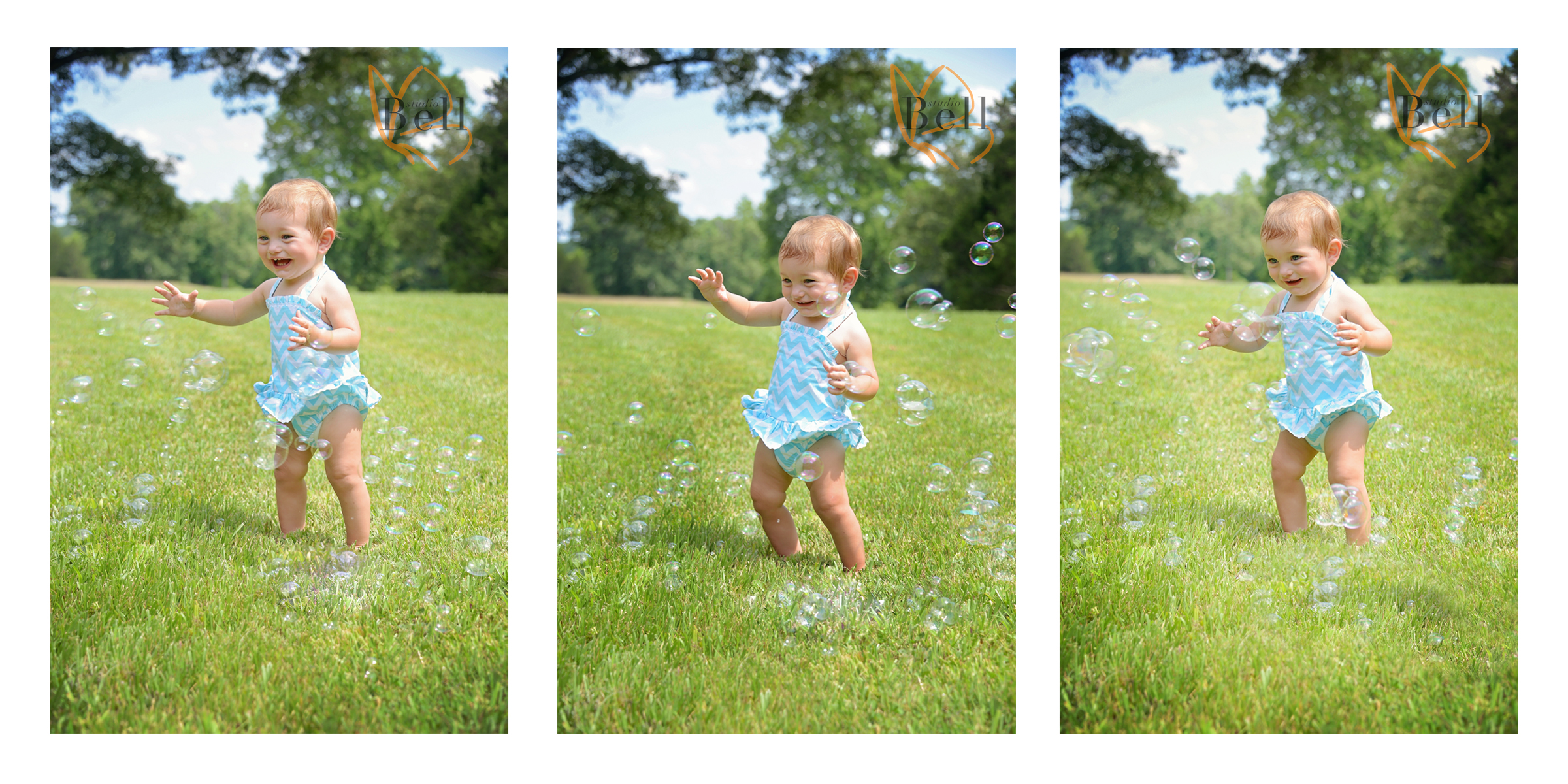 Baby was having so much fun with the bubbles she went into dance mode and then......