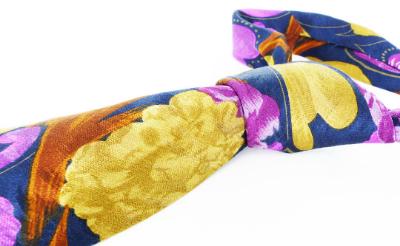 Silk neckties for women