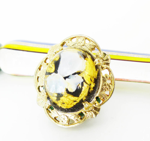 Gold Flakes Magnetic Pin MagTAK MRM-accessories.com