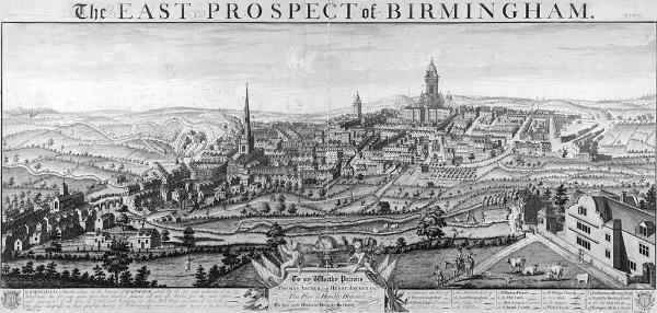 Button history in Birmingham
