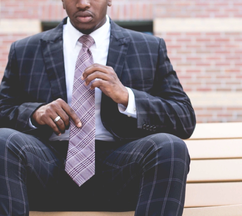 Nothing ties up a tight look like a quality woven silk tie from Nordstrom.