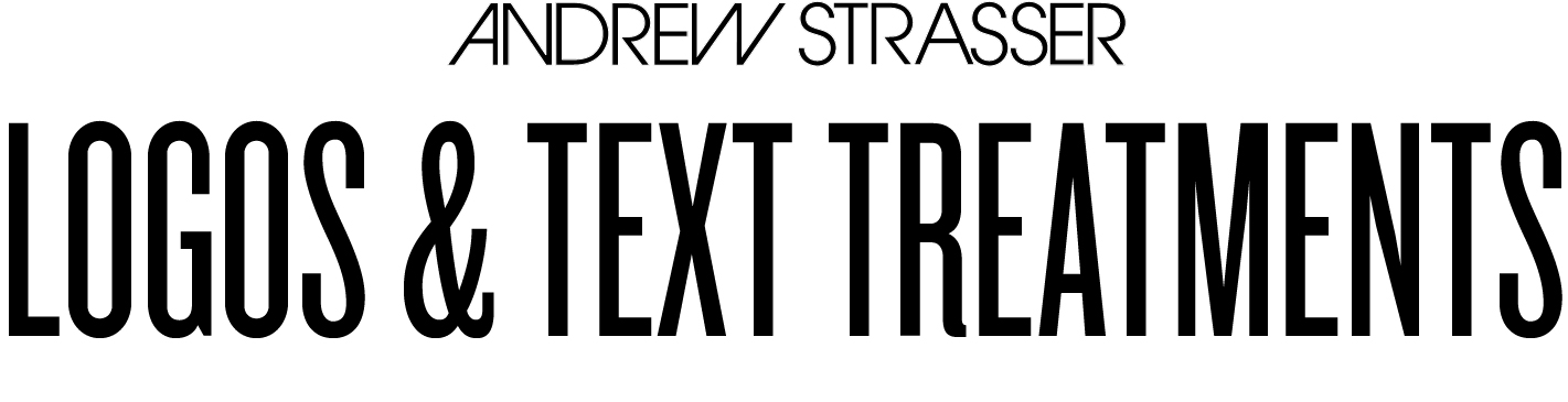 ANDREW STRASSER logos and text reatments.jpg