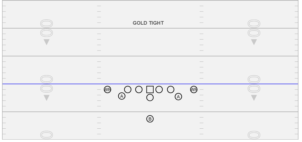 Gold Tight - Love this formation!, it allows you to manipulate the perimeter blocking schemes easily and can give you clues as to how a defense is defending the triple option.