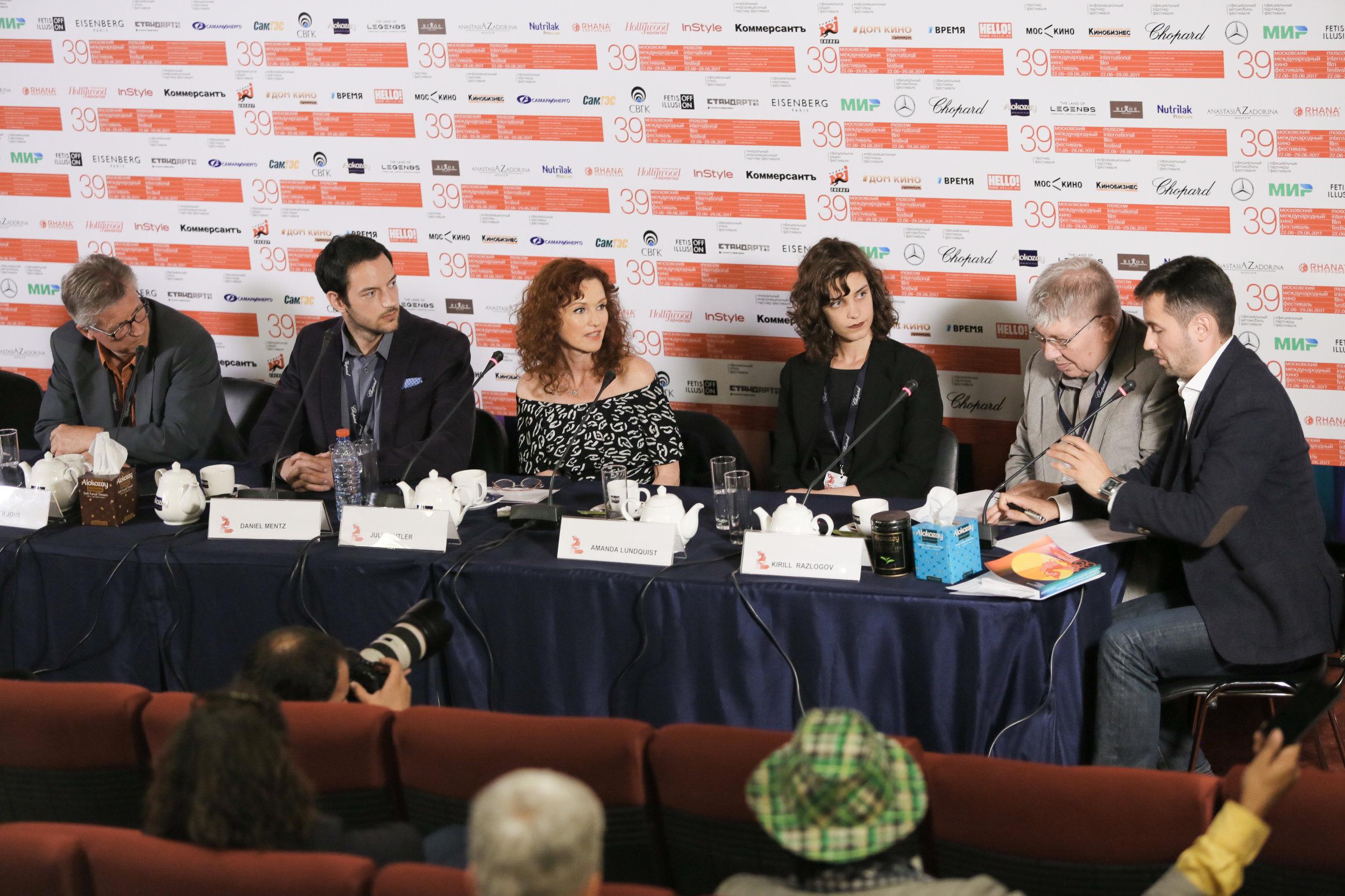 MIFF Press conference.  Amanda Lundquist  (Director)