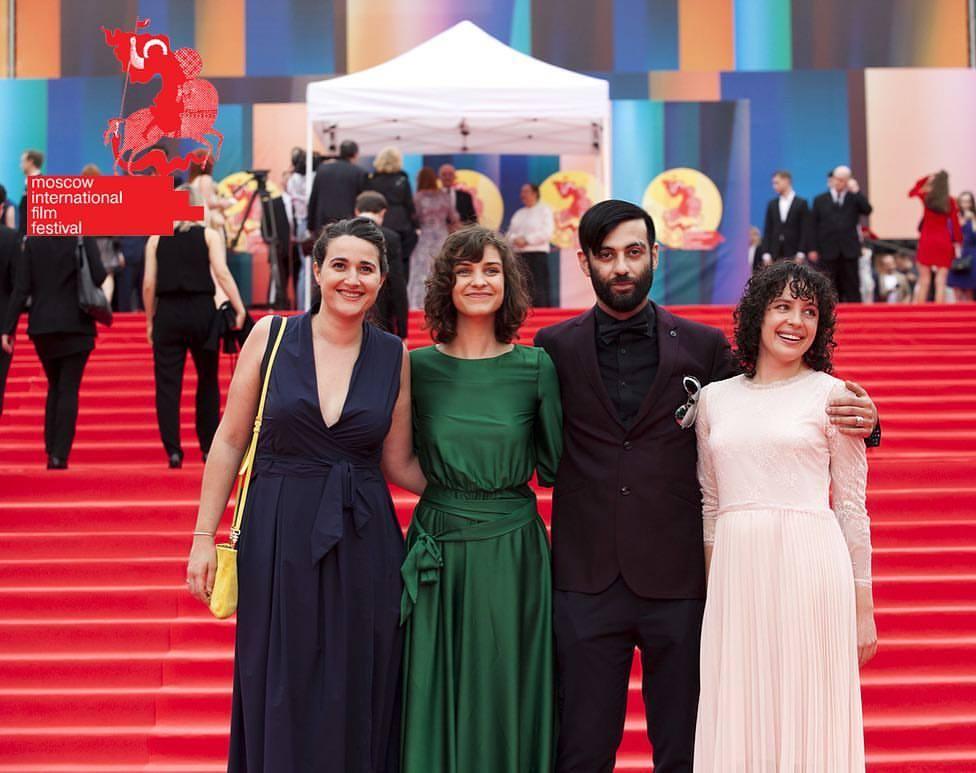 MIFF Closing Ceremony.  Olga Vazquez  (Cinematographer),  Amanda Lundquist  (Director, Co-writer),  Ara Woland  (Co-producer, Actor),  Rebecca Karpovsky  (Producer, Co-writer, Actor)