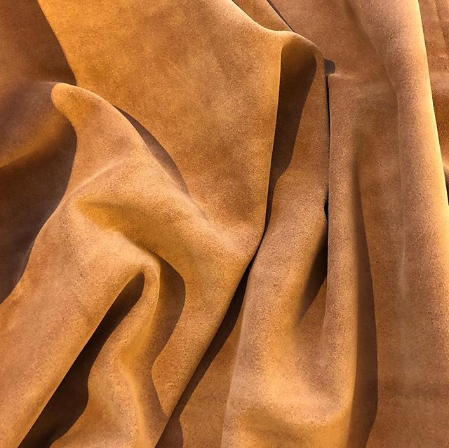 """Halston"" suede #luxuryleather #leatherforinteriors"