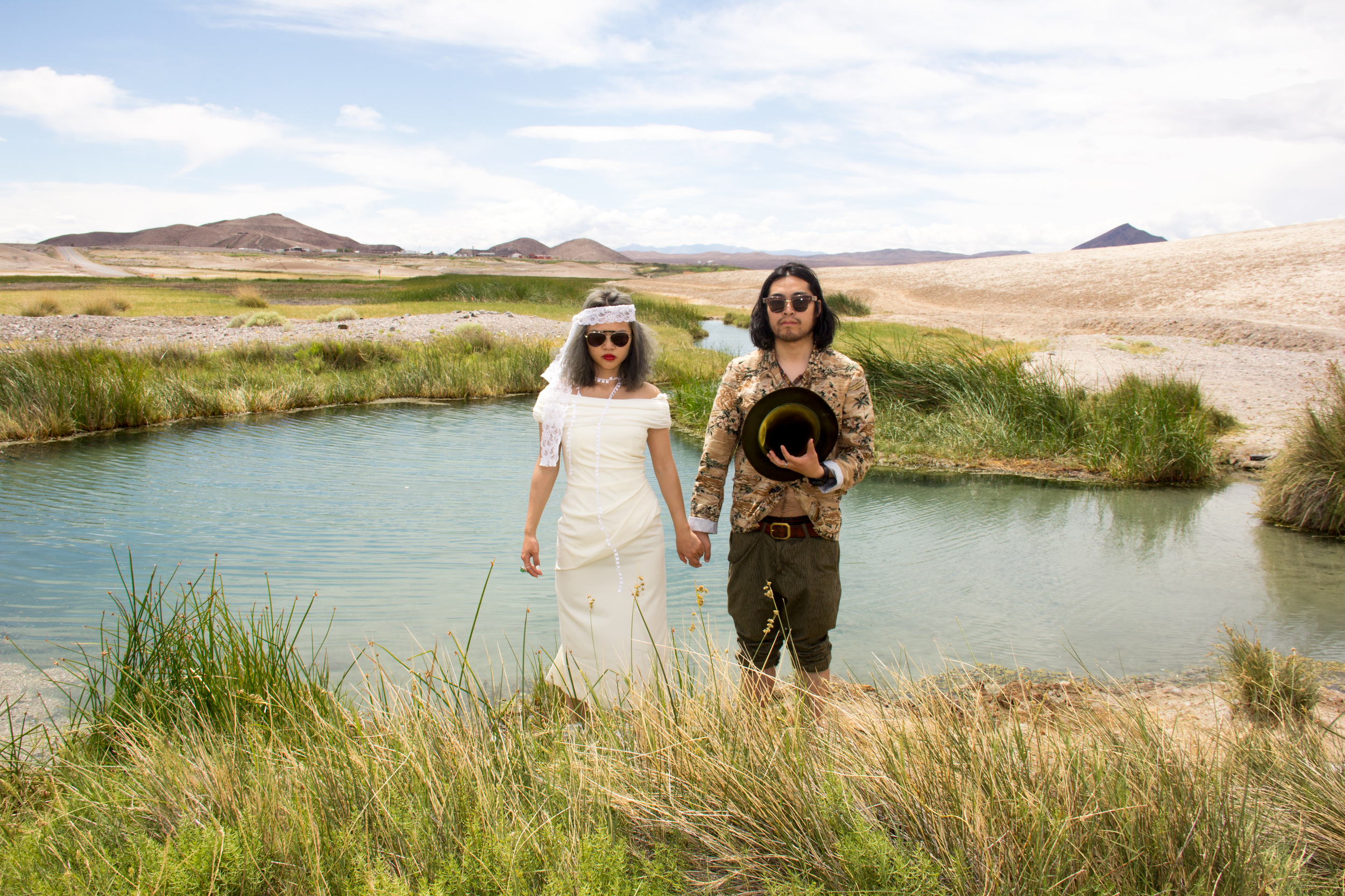 Wedding at Death Valley