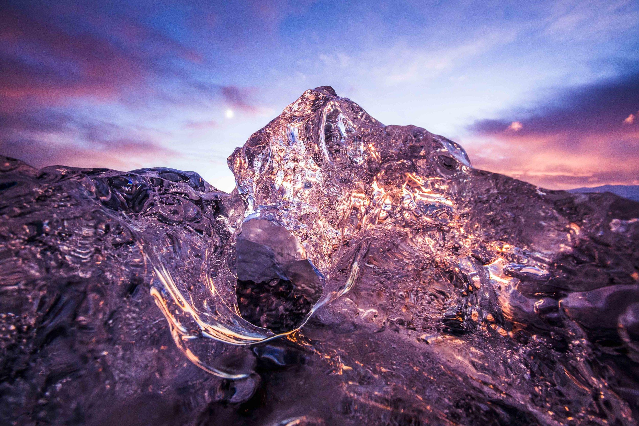 Iceland - Jokulskarlon Sunset 2.jpg